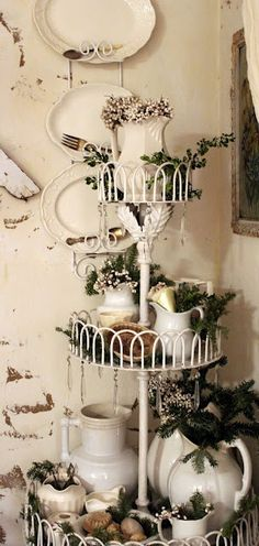 Gorgeous Holiday Vignette!