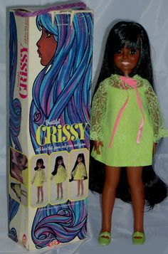 Crissy doll. I still have my doll, but she lost her shoes. Hmmm. I remember this box but I don't  remember having this doll.