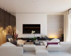 Contemporary Living Room Designs by Fedorova45