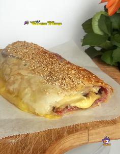 Oggi vi lascio il Rotolo di Sfoglia con Melenzane e Formaggio, un idea simpatica da usar per un buffet …….o per il pic nic http://blog.giallozafferano.it/lacucinadimarge/rotolo-sfoglia-melanzane-formaggio/