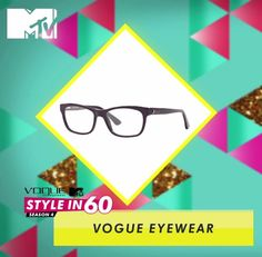 Add more sex appeal to your look with bold glasses. Go for trendy glasses with metallic detailing. For more style tips, watch Vogue Eyewear MTV #Stylein60: mtvindia.com/style