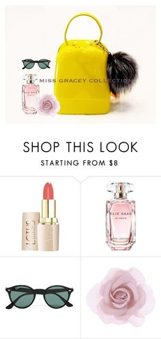 """#MISS GRACEY COLLECTION# Jelly bag"" by yunshi-ye on Polyvore featuring Elie Saab, Ray-Ban and Accessorize"