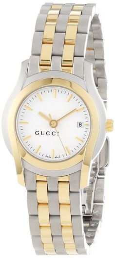 Gucci Watch , Gucci Women's YA055520 G-Class Steel and Gold-Plated Watch