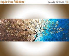 Beautiful love by qiqigallery x original modern abstract landscape wall painting office wall décor colorful modern art original love birds painting Art Nouveau, Art Deco, Landscape Walls, Abstract Landscape, Painting Abstract, Acrylic Paintings, Acrylic Art, Love Birds Painting, Painting Tips