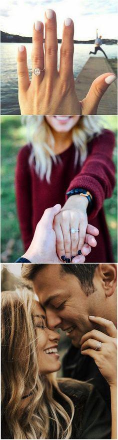 #weddingphotos #engagementphotos #weddingphotography #weddingideas #engagementrings #weddingrings #weddinginspiration ring shot engagement photo ideas_2