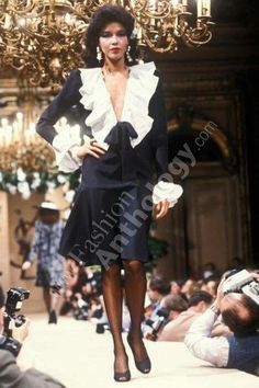 Yves Saint Laurent | Spring 1982