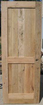 Simple cabin door design
