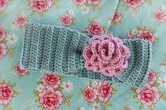 King & majkis: Easy crochet headbands. With patterns.