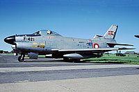 Photo ID: 2702142 Views: 905 Denmark - Air Force North American F-86D Sabre (F-421) shot at Vaerlose (EKVL) Denmark June 10, 1994 By Fred Willemsen