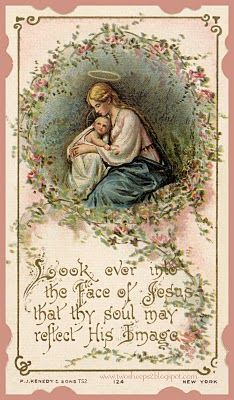 tons of vintage holy cards for personal use.  If you wish to use commercially, email for permission