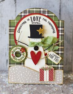 This and That: Snowman Card