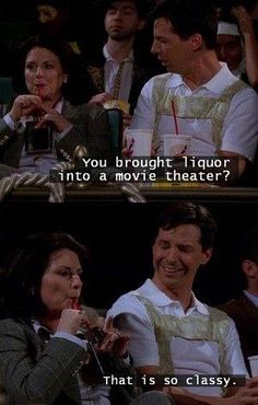 I miss the show Will and Grace!!