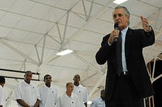 Pat Riley, former coach and team President of the Miami Heat.
