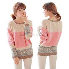 Sweet Loose Sweater Knitwear