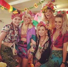 Love these girls' fancy dress!