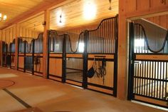 While our stalls may have a similar appearance to those made by other manufacturers, they're constructed very differently. Classic Equine Equipment uses a heavier gauge steel than many of our competitors, and we use more steel to build each stall – probably twice the amount of steel than what's in the majority of the other stalls out on the market.