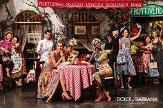Dolce & Gabbana Spring Ad Campaign 2016 - Posh Brazilian