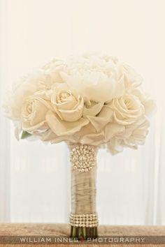Acabamento muito bonito para bouquet, falta só o medalhão