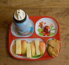 apple sticks and pb dip