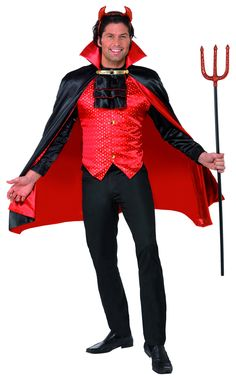 Deluxe Devil costume £29.99  sc 1 st  Pinterest & Devil costume for a male #yummy | Costumes / Cosplay / Fantasy Play ...