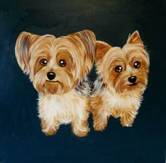 Custom Dog Portrait / Custom Pet Portrait 2 by TheStardustStudio