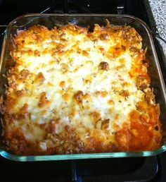 Chicken Parmesan Casserole HOLY CRAP! | cooking for you