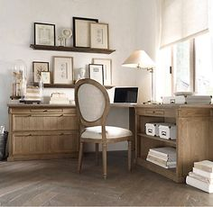 1000 images about office space on pinterest desks for Who manufactures restoration hardware furniture