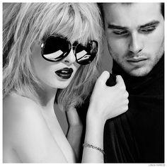 Matt Trethe Fronts Linda Farrow Fall/Winter 2014 Eyewear Campaign image Linda Farrow Eyewear Fall Winter 2014 Campaign 001