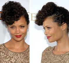 Loving the Curly hair on Thandie Newton!