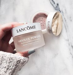 a2563993924 Absolue Powder, Smoothing Soft Powder Foundation Make Up by Lancome. Face  powder makeup for luminous skin and clear complexion.