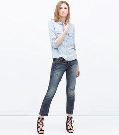 Zara Boyfriend Jeans ($50)