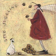 Spud Juggling by Sam Toft