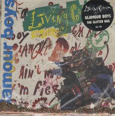 """For Sale - Living Colour Glamour Boys UK  7"""" vinyl single (7 inch record) - See this and 250,000 other rare & vintage vinyl records, singles, LPs & CDs at http://eil.com"""