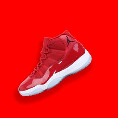 c3043858605d83 378037-623 Nike Air Jordan 11 Retro Win Like 96 - Gym Red