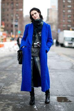 Manon Leloup #model street style.
