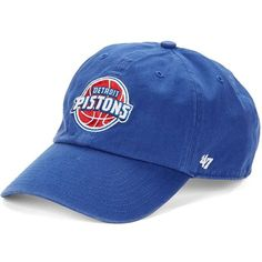 47 Brand Men's Detroit Pistons Baseball Cap (339.075 IDR) ❤ liked on Polyvore featuring men's fashion, men's accessories, men's hats, royal, mens caps and hats, mens baseball caps, mens baseball hats and mens ball caps