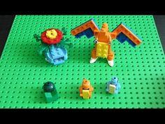 Lego Pokemon + Instructions Part 19 - Kanto Starters Revisited - YouTube