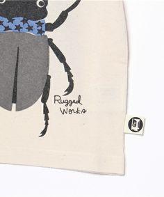 RUGGEDWORKS(ラゲッドワークス)のクワガタプリント半袖Tシャツ(Tシャツ/カットソー)|詳細画像