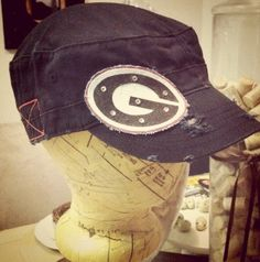 Georgia Bulldogs Cadet Hat by kymburleigh5 on Etsy, $30.00
