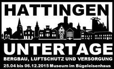 """Das Logo der Ausstellung 2015 unter Verwendung des Wandtattoo """"Skyline Hattingen"""" mit freundlicher Genehmigung von www.plot4u.de - mehr unter http://wp.me/P2QlHh-1F"""