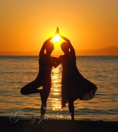 Dancing in the sunset  Photo by Marisa