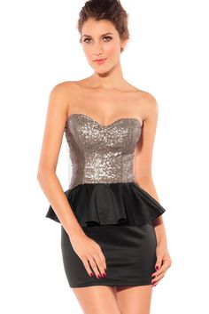 Dear-lover Women's Graceful Gleam Sequins Strapless Dress ($14.99) - Runs very small. - My boobs looked like they were sagging  the glitter part was extremely itchy, not only under my armpits, but also in my stomach area! - This dress is not what it looks in the picture at all. http://www.amazon.com/exec/obidos/ASIN/B00E9OKT7M/hpb2-20/ASIN/B00E9OKT7M
