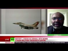 January 31, 2013 - VIDEO - ISRAEL - BOMBING - RUSSIAN MEDIA - RUSSIAN SPIN - Syria claims Israel has carried out a deadly bombing raid on its territory, destroying a military research centre near Damascus. It denies claims the attack targeted a weapons convoy near the Lebanese border.
