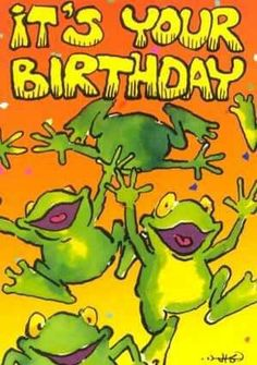 Birthday Frog Happy Msg Pictures Quotes