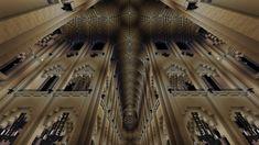 Intérieur cathédrale Notre-dame de Paris Minecraft Buildings