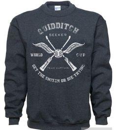 Quid ditch sweatshirt hogwarts