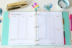 Printable Student Binder | JustAGirlAndHerBlog.com