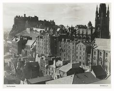 View from Edinburgh Central Library, 1953