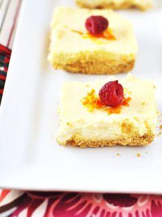 Gluten-free Citrus Cheesecake Bars via @Jennifer Leal