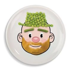 The perfect plate for kids that love playing with their food: http://www.walletburn.com/Food-Face-Plate_877.html #food #giftideas Price: $5